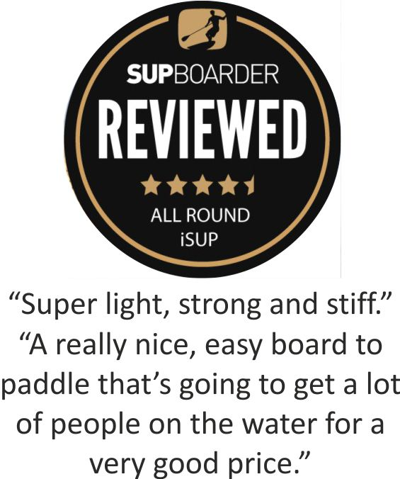 SUPBoarder the best inflatable paddle board